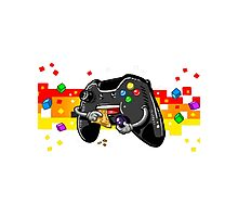 Gamer controller Photographic Print