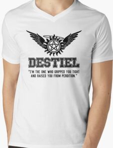 Destiel Quote Shirt Series #2 Mens V-Neck T-Shirt