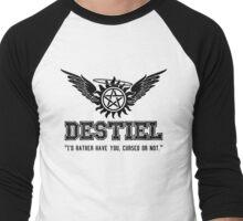 Destiel Quote Shirt Series #3 Men's Baseball ¾ T-Shirt