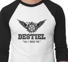 Destiel Quote Shirt Series #6 Men's Baseball ¾ T-Shirt