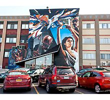 The Mural at Village Gate Photographic Print