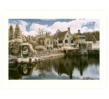Reflections In Infrared Art Print
