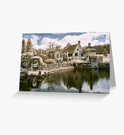 Reflections In Infrared Greeting Card