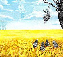 """Shiptree&Rats"" by Sergei Rukavishnikov by Alenka Co"