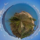 The big wide blue - little planet by SMCK