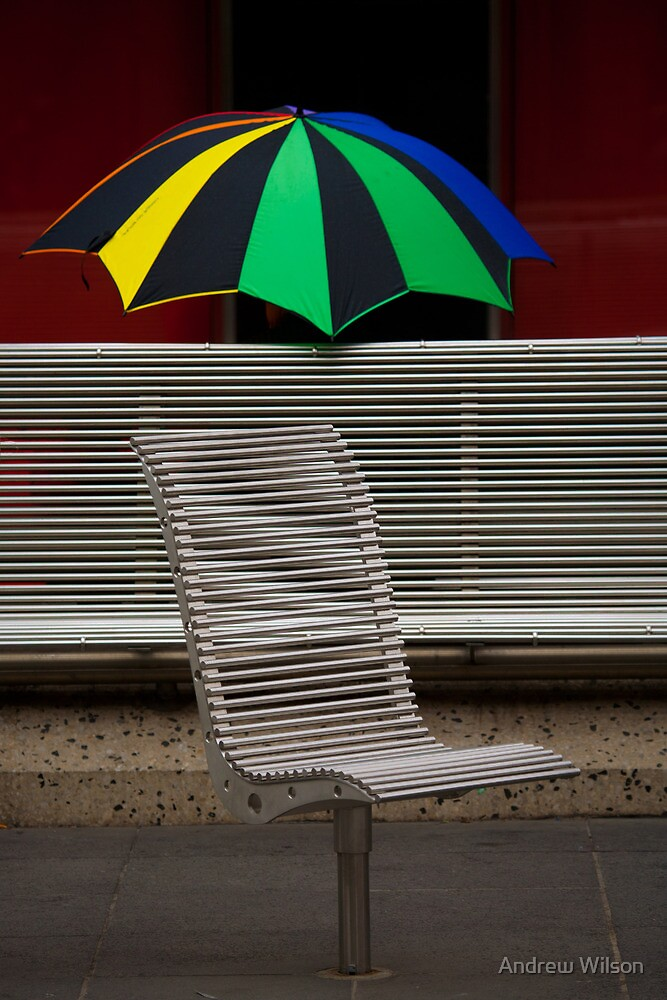 Lines and colour by Andrew Wilson