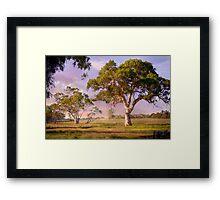 Mt Barker, Adelaide Hills SA Framed Print