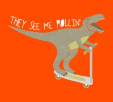 They See Me Rollin' - Dark shirt version by Good Natured Beast