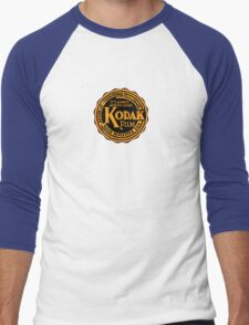 Kodak Men's Baseball ¾ T-Shirt
