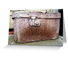 Liverpool Luggage Greeting Card