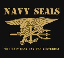 Navy SEALs Stencil Kids Tee