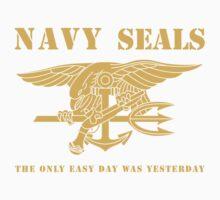 Navy SEALs Stencil Kids Clothes