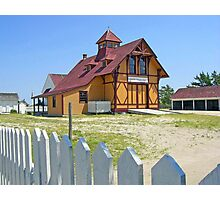 Indian River Life-Saving Station Photographic Print
