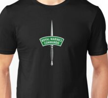 Royal Marines Commando Badge Unisex T-Shirt