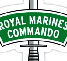 Royal Marines Commando Badge Sticker