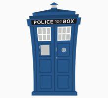 """""""TARDIS Friend"""" Sticker by DrWow"""