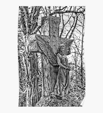 Oakwood Cemetery Poster