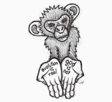 Evolution Is Real, God Is Not T-Shirt