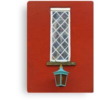 Window and Lantern Canvas Print