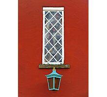 Window and Lantern Photographic Print