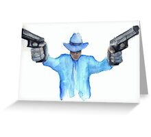 Raylan Givens from Justified Cards and Prints Greeting Card