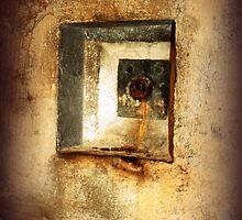 Battery Mishler water outlet by Dawna Morton
