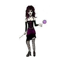 Wiccan Woman T-shirt Photographic Print