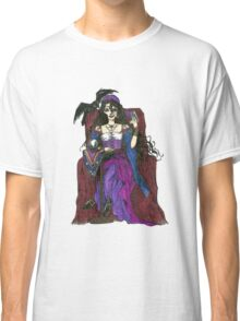Gypsy Woman with Raven T-shirts Classic T-Shirt
