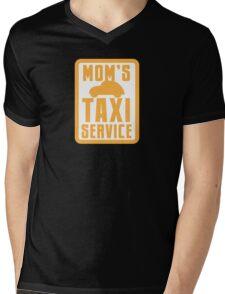 MOM'S TAXI SERVICE Mens V-Neck T-Shirt