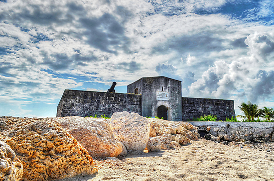Fort Montagu in Nassau, The Bahamas by 242Digital