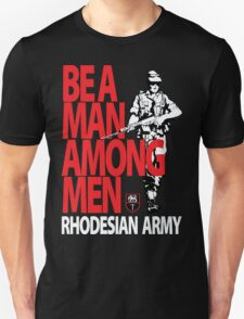 Rhodesian Army Recruiting Poster Graphic Unisex T-Shirt