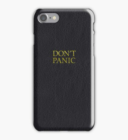 Hitchhiker's Guide (Earth Edition) iPhone Case/Skin