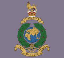 Royal Marines Commando Full Color Kids Tee