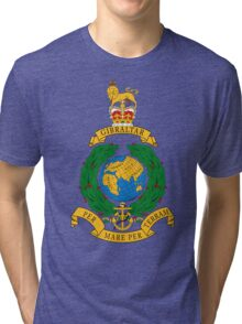 Royal Marines Commando Full Color Tri-blend T-Shirt