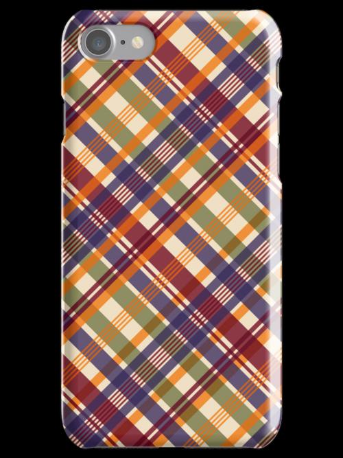Tartan iPhone Case by papertopixels