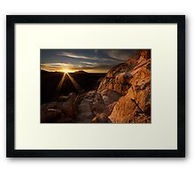 High Light Framed Print
