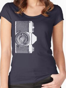 Old Pantax K1000 Women's Fitted Scoop T-Shirt