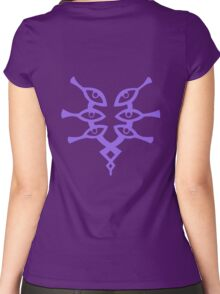 The Grimleal (Purple) Women's Fitted Scoop T-Shirt