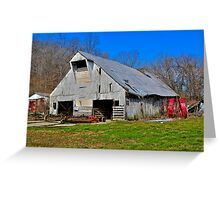 Another Old Barn (4) Greeting Card