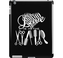 Love is in the Hair iPad Case/Skin