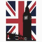 Big Ben union jack by Chris-Cox