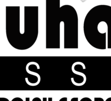Just Bauhaus Sticker