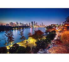 Brisbane City Photographic Print