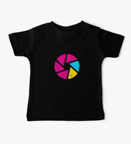 Coloured Iris Logo Baby Tee