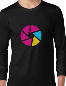 Coloured Iris Logo Long Sleeve T-Shirt