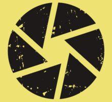 Iris Logo, black Kids Tee