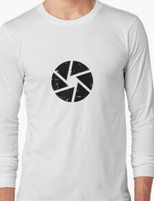Iris Logo, black Long Sleeve T-Shirt