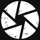 Iris Logo, White by photographytees