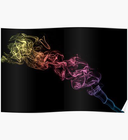 Smokin' Rainbows Poster