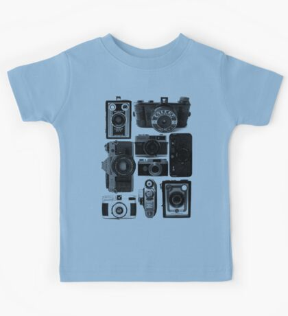 Old Cameras Kids Tee